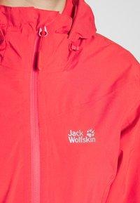 Jack Wolfskin - TOUR - Hardshell jacket - tulip red - 6