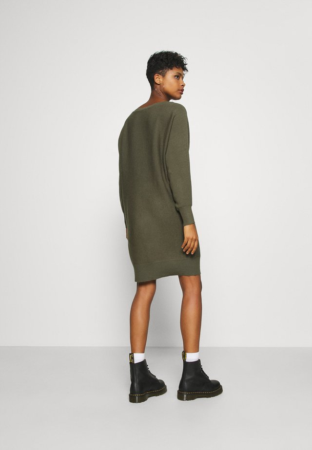 NMSHIP BOATNECK DRESS  - Jumper dress - kalamata