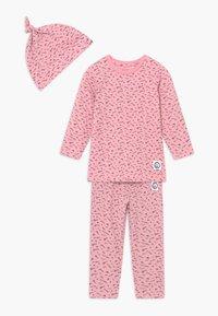 Name it - NBFBARLINE SET - Trousers - pink nectar - 0