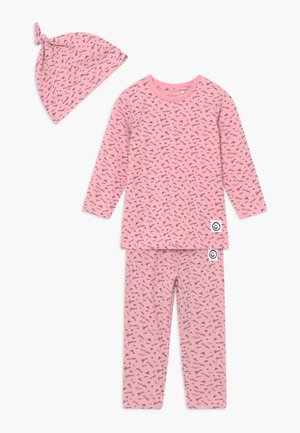 NBFBARLINE SET - Trousers - pink nectar