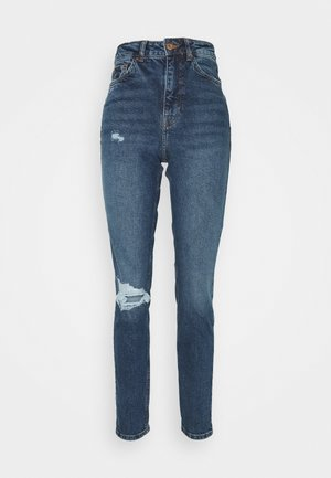 TA BUSTED KNEE MOM JEAN LUCIOUS - Jeans relaxed fit - blue