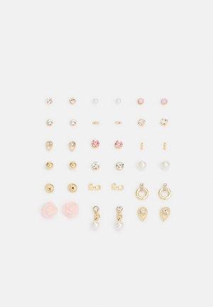 PCQASWA EARSTUDS 20 PACK - Earrings - gold-coloured