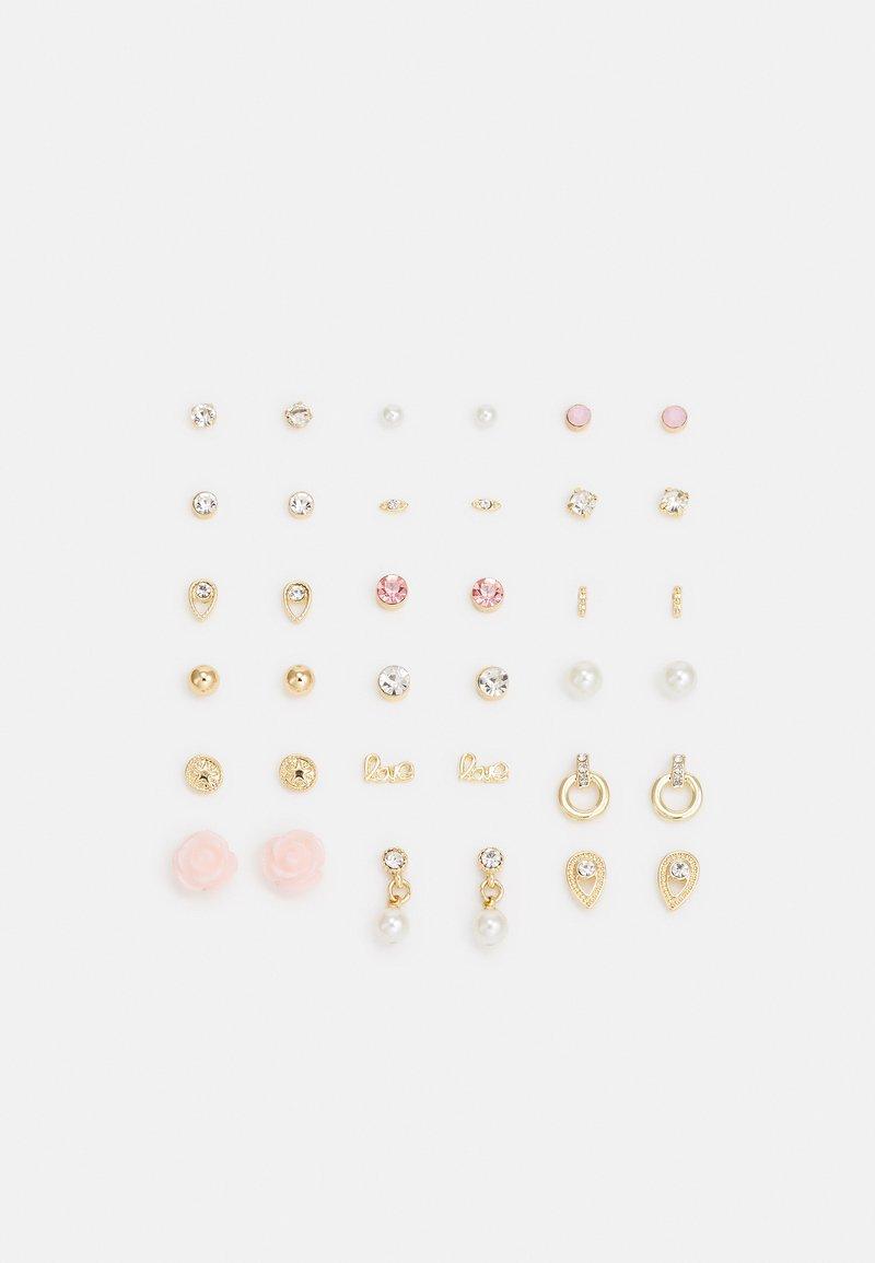 Pieces - PCQASWA EARSTUDS 20 PACK - Øredobber - gold-coloured