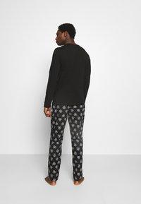 Calvin Klein Underwear - PANT SET - Pyjama set - black - 2