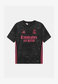 adidas Performance - REAL MADRID AEROREADY SPORTS FOOTBALL UNISEX - Club wear - black - 0