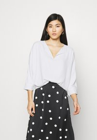 comma - Long sleeved top - white - 0