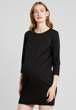 KRISTAL FONDO ALL - Jerseyklänning - black