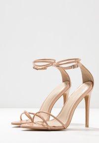 Glamorous - Sandales à talons hauts - nude - 4