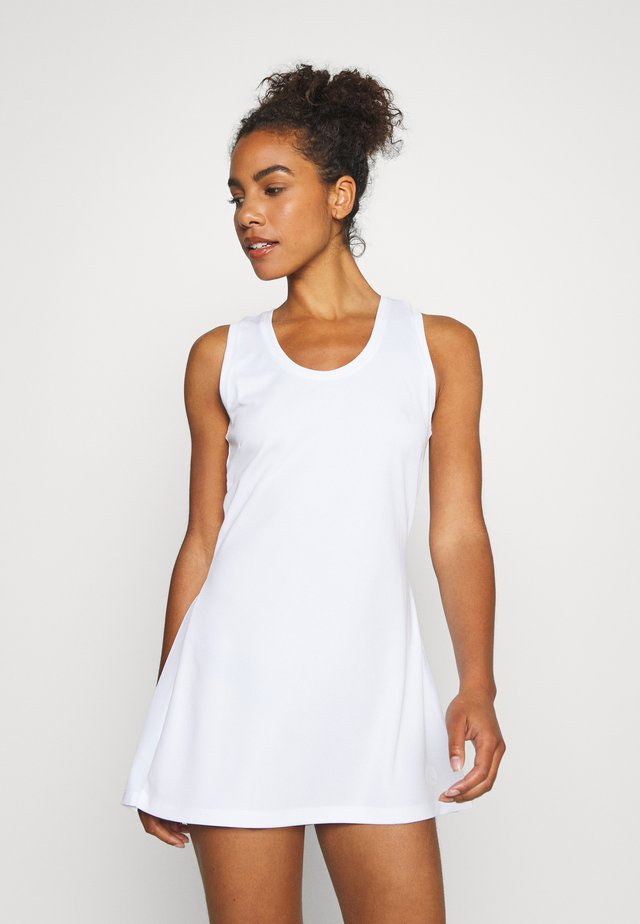 TESS DRESS - Vestido ligero - brilliant white