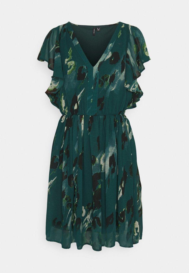 Vero Moda - VMSASHA CAP SLEEVE DRESS - Day dress - sea moss