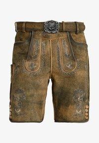 Stockerpoint - THOMAS - Kožené kalhoty - korn - 4