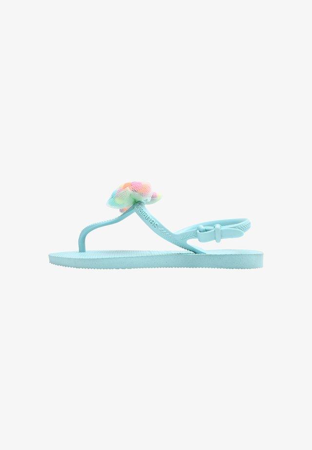 FREEDOM POMPOM  - Sandales de bain - sky blue