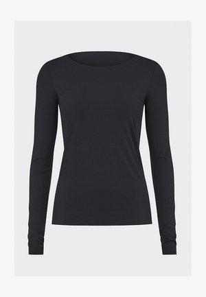 AURORA PURE  - Long sleeved top - black