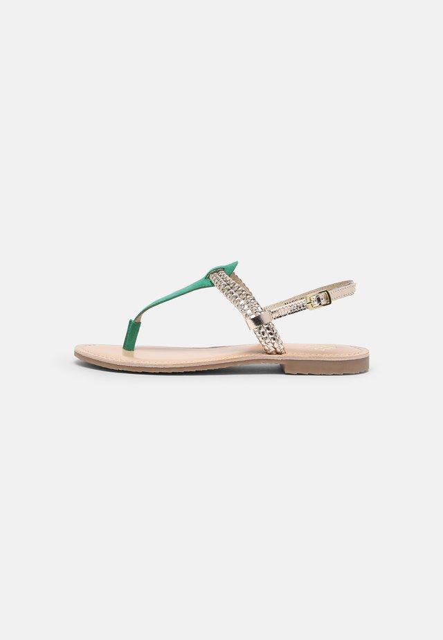 DETIRI - Sandály s odděleným palcem - vert/or