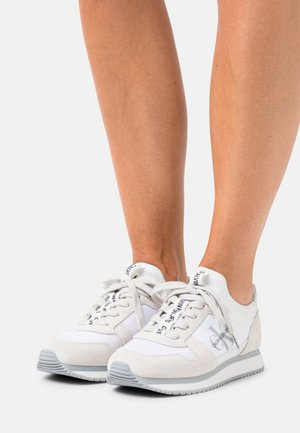 RUNNER LACEUP SOCK - Trainers - bright white