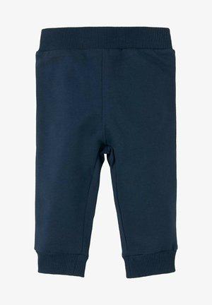 MIT ELASTISCHEM BUND - Tracksuit bottoms - dress blue blue