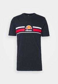 Ellesse - MONTELL - Print T-shirt - navy - 4