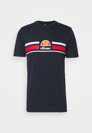 MONTELL - Print T-shirt - navy
