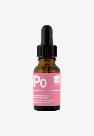POMEGRANATE SUPERFOOD BRIGHTENING EYE SERUM - Augenpflege - -