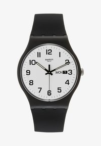 Swatch - TWICE AGAIN - Orologio - black - 2