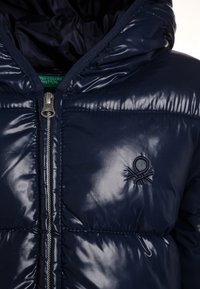 Benetton - Winter coat - dark blue - 3