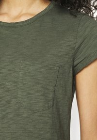 GAP - TEE DRESS - Vestido ligero - tweed green - 4
