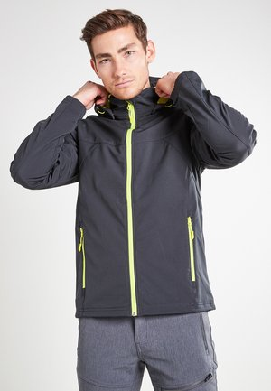 BIGGS - Soft shell jacket - grau