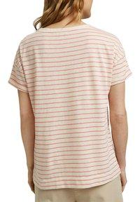 Esprit - Print T-shirt - orange red - 6