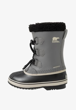 YOUTH YOOT PAC UNISEX - Snowboots  - quarry/black