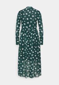 TOM TAILOR DENIM - PRINTED MIDI DRESS - Day dress - green - 1