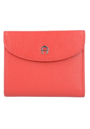 BASIC COMBINATION FLAP WALLET - Wallet - burnt red