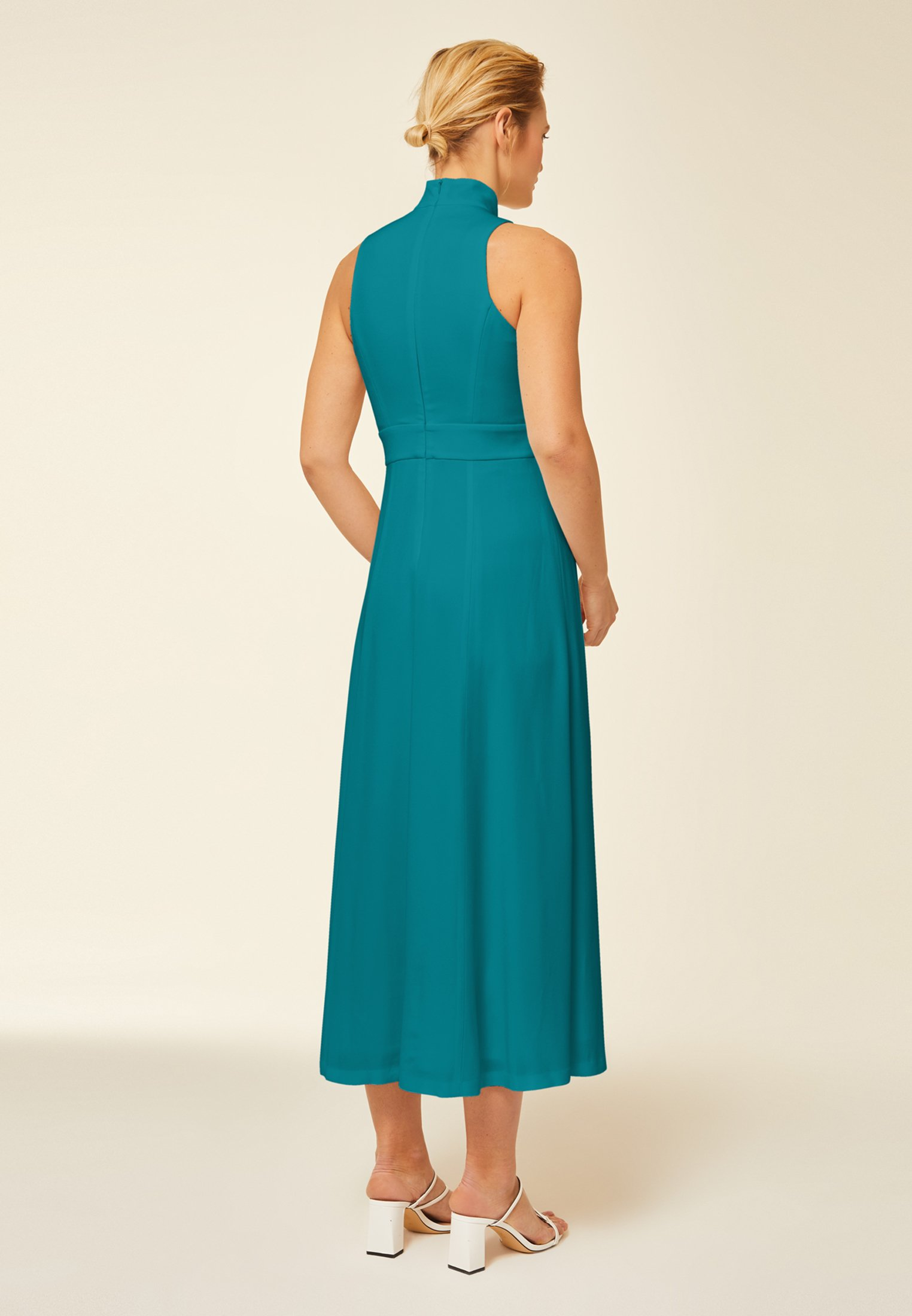 IVY & OAK MIT STEHKRAGEN Ballkleid turquoise blue/türkis