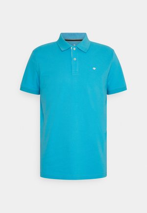 BASIC WITH CONTRAST - Polo shirt - aquarius turquoise