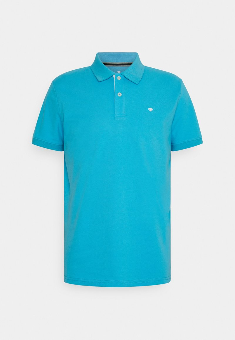 TOM TAILOR - BASIC WITH CONTRAST - Polo shirt - aquarius turquoise