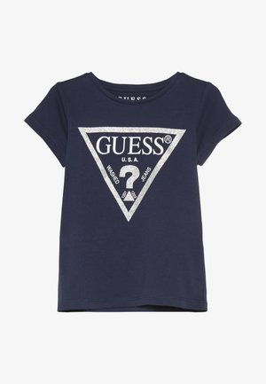 TODDLER CORE - Print T-shirt - deck blue