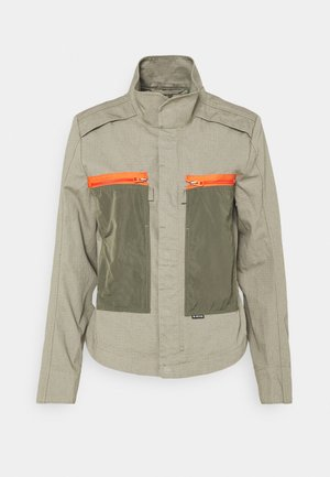 SLIM OVERSHIRT - Light jacket - shamrock