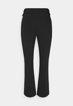 PANTALONE TROMBETTA - Spodnie materiałowe - nero