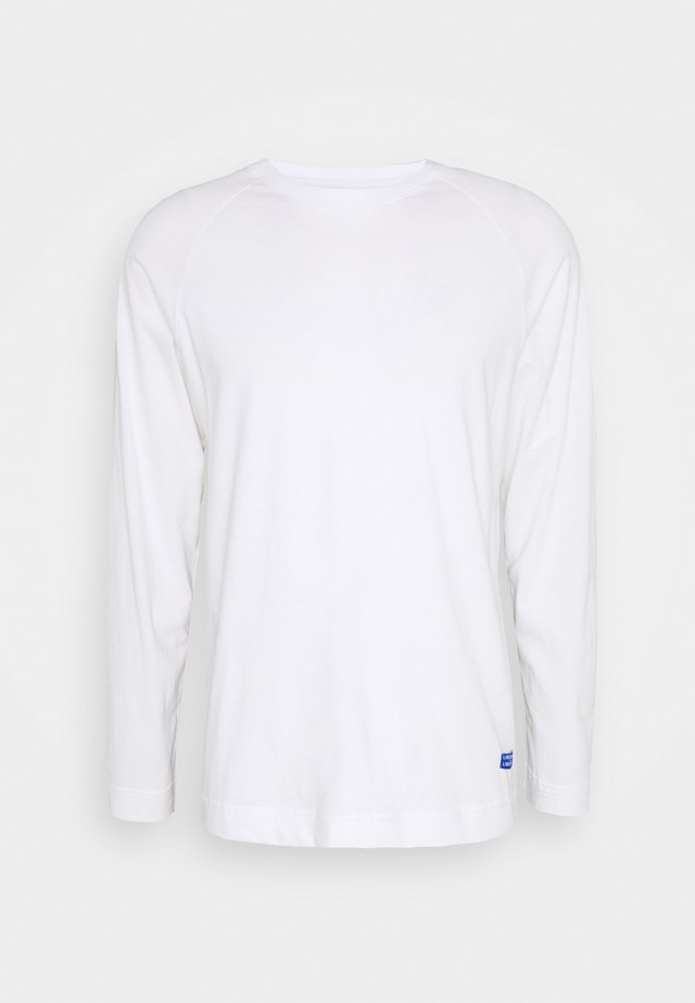 LECTURE LOGO - Long sleeved top - white