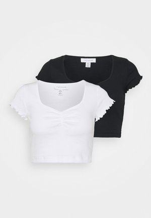 RUCH 2 PACK - T-shirt con stampa - monochrome