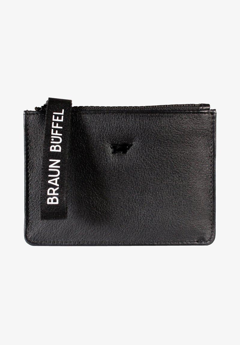 Braun Büffel - CAPRI MINI - Wallet - schwarz