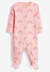 Next - 3 PACK - Sleep suit - pink - 3