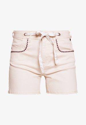 JULYET ENIGMA - Denim shorts - birch