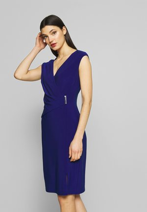 CLASSIC DRESS - Shift dress - parisian blue