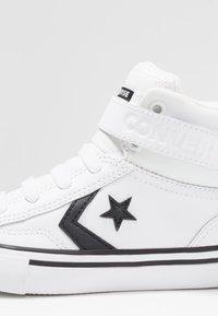 Converse - PRO BLAZE STRAP - Baskets montantes - white/black - 2