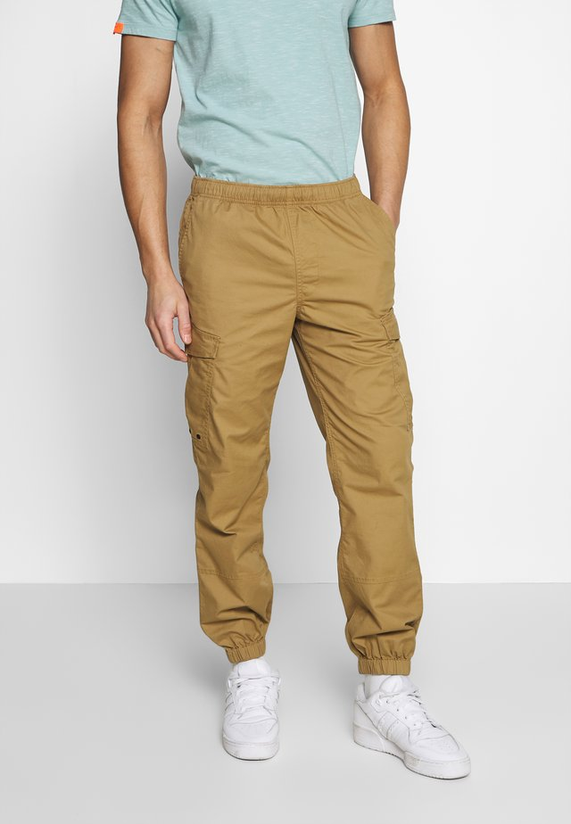 Cargo trousers - cotswold gold