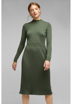 Jumper dress - light khaki