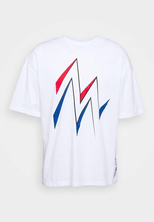 MARATHONA UNISEX  - Printtipaita - white