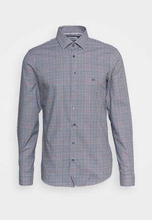 CHECK EASY CARE SLIM FIIT - Shirt - brown