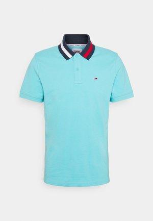 FLAG NECK  - Poloshirt - blue