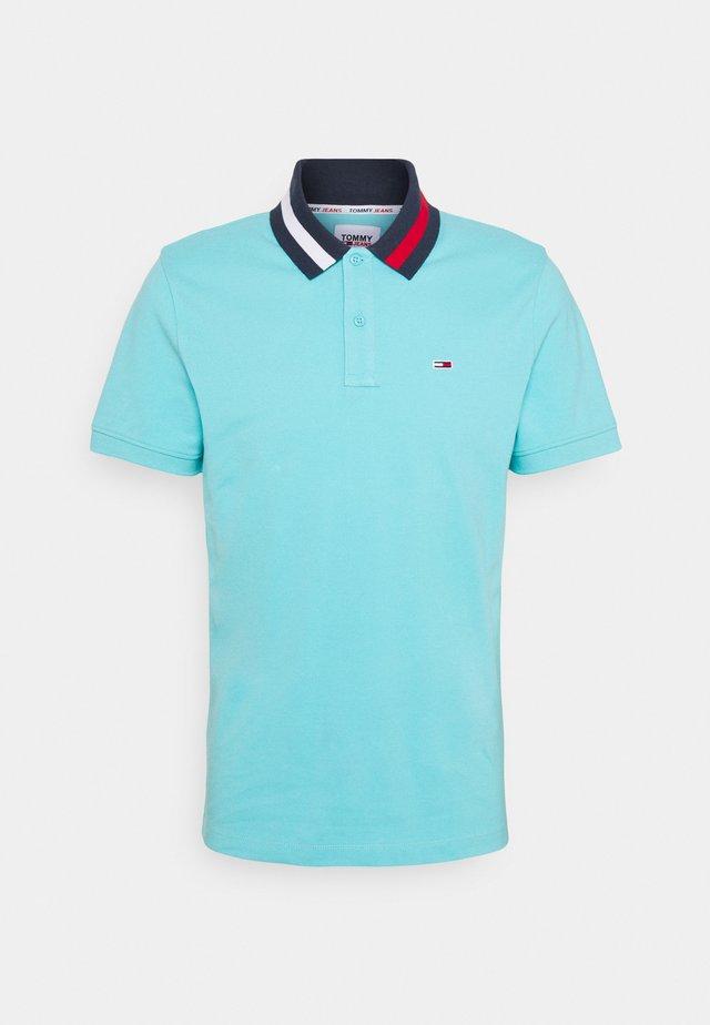 FLAG NECK  - Polo shirt - blue